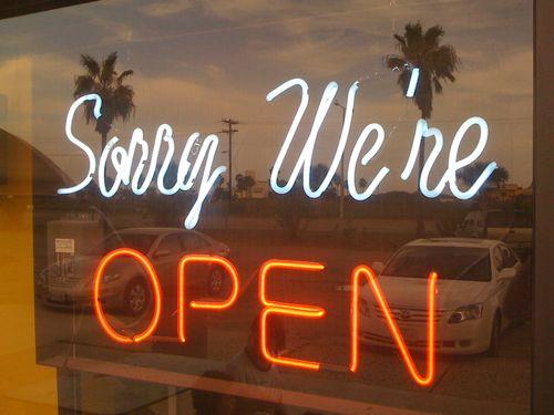 Metacool is OPEN -- sorry!