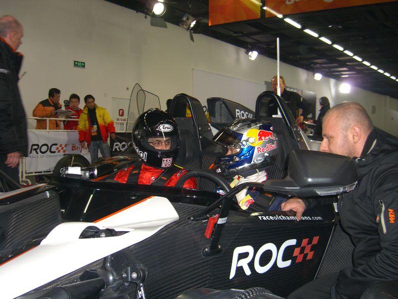 Diego Rodriguez & Sebastian Vettel, Race of Champions 2009