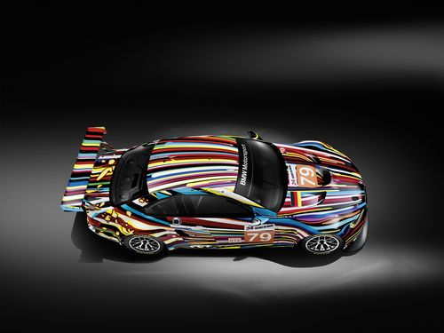 BMW Koons art car top metacool