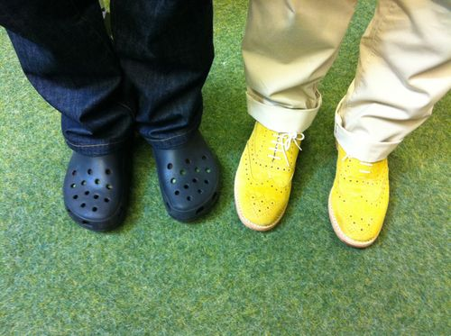 Metacool crocs + wingtips