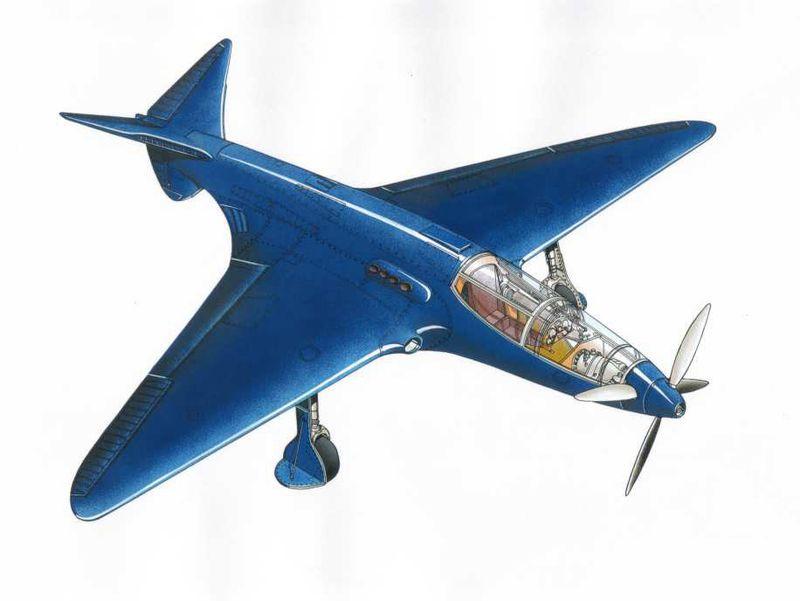 Bugatti-100P-Airplane