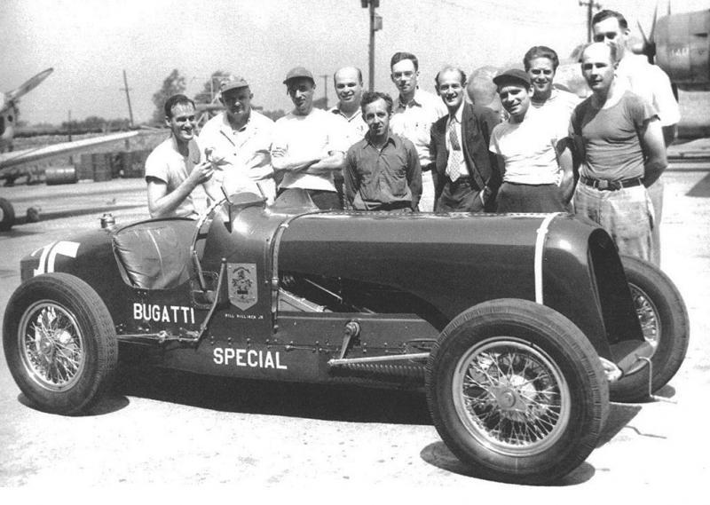 Bill-Milliken-Tackling-The-1947-Pikes-Peak-Hillclimb-Bugatti