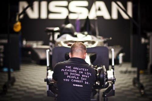 DeltaWing Nissan team shirt